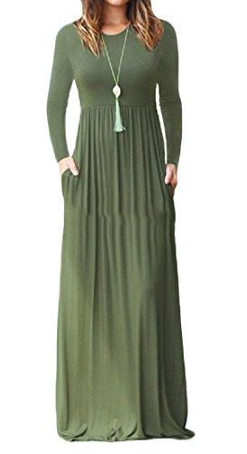 Pocket Dresses Pure A Women's Pattern2 Waist High With line Comfy Stylish Color O8xgv5qx