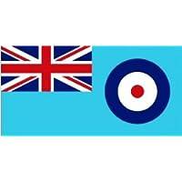 Large RAF blue ensign royal air force flag. 5ft x 3ft with 2 metal eyelets.