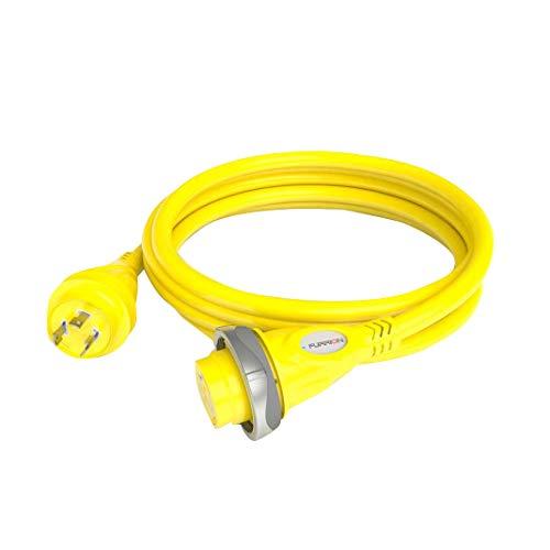 (Furrion 381696 LED Cordset 30A 125V-25', Yellow)