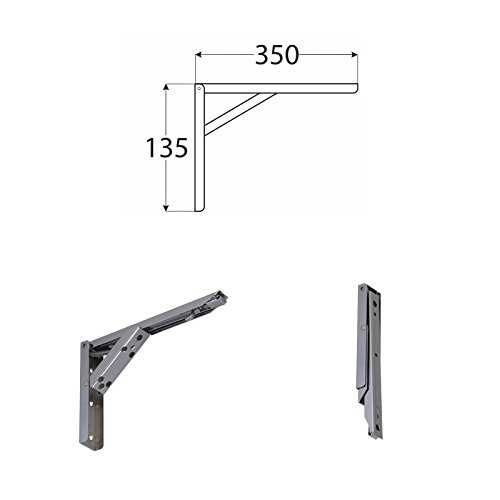 Regalwinkel 5cm Regalkonsole Regalträger Stahl Regalhalter Regalbodenträger
