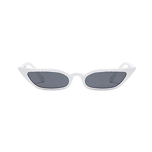 women vintage cat eye sunglasses retro small