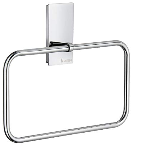Smedbo Pool Towel Ring ZK344 Polished Chrome .Include Glue.Fixing Without Drilling