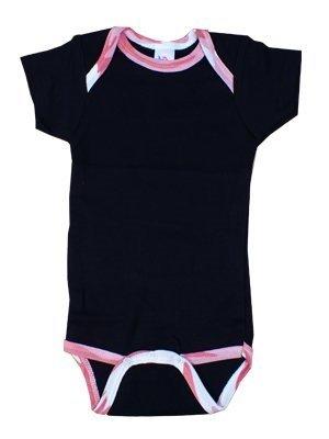 Body pour bébé coloris Noir et rose camo: : Bébés