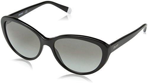 DKNY 0DY4084 300111 Cat Eye Sunglasses,Black,57 mm Dkny Glasses Frames