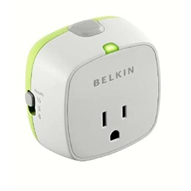 Belkin Conserve Socket Energy-Saving Outlet with Timer,F7C009q