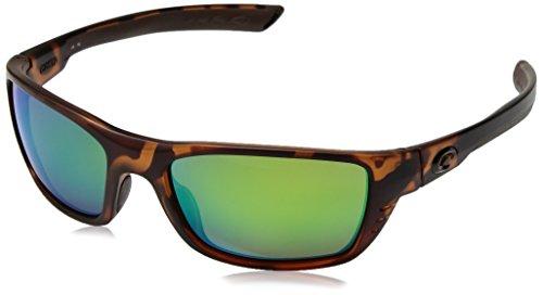 Costa del Mar Men's Whitetip Polarized Iridium Rectangular Sunglasses, Retro Tortoise, 58 mm by Costa Del Mar