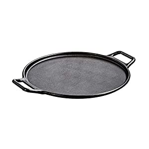 Lodge P14P3 Cast Iron Baking Pan, 14″, Black