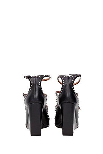 BE08779004001 Givenchy Cuñas Mujer Piel Negro Negro
