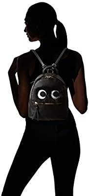 T-Shirt & Jeans Monster Back Pack with Fuzzy Eyes