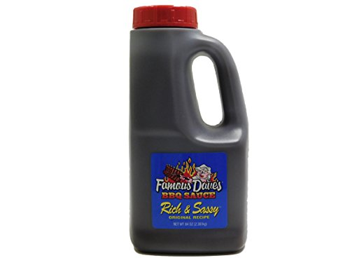 Famous Dave's Original Recipe Rich & Sassy BBQ Sauce 84 Oz B