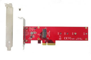 21 opinioni per Lycom PCIe 3.0 x4 3.3V5A Host Adapter for PCIe-NVMe, DT-129 (Host Adapter for