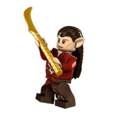 LEGO The Hobbit: Mirkwood Elf Chief Minifigure (Lord of the Rings)