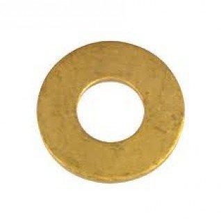 100/St/ück Messing Unterlegscheiben Form A 4/mm