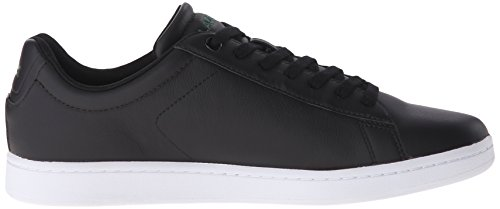 Lacoste Mens Carnaby EVO LCR Casual Shoe Fashion Sneaker, Black, 9.5 M US