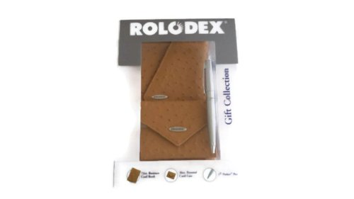Rolodex Gift Collection Set Buisness Card Book Card Case Parker Pen