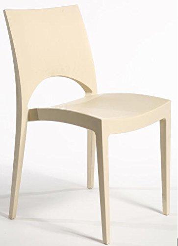 N. 2 sedie Paris Avorio Igap
