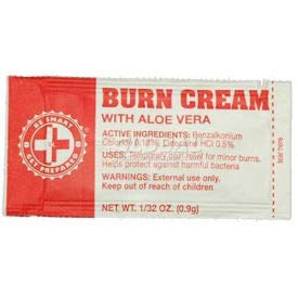 Medique Burn Cream, 100 Packets (FABC CS) by Medique Products