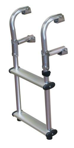 JIF Marine EPU2 Compact Transom Ladder, (Step Transom Ladder)