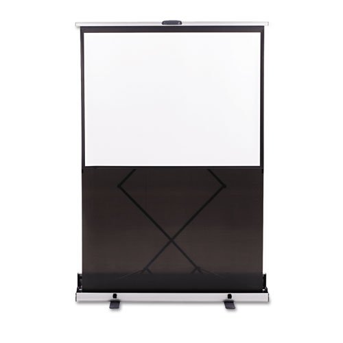 QRT960S - Quartet Euro Manual Projection Screen - 84.9 - 1:1 - Floor Mount