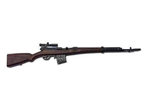 1:6 Scale Battle GUN WWII Weapon Model Samozaryadnaya Vintovka Tokareva SVT40