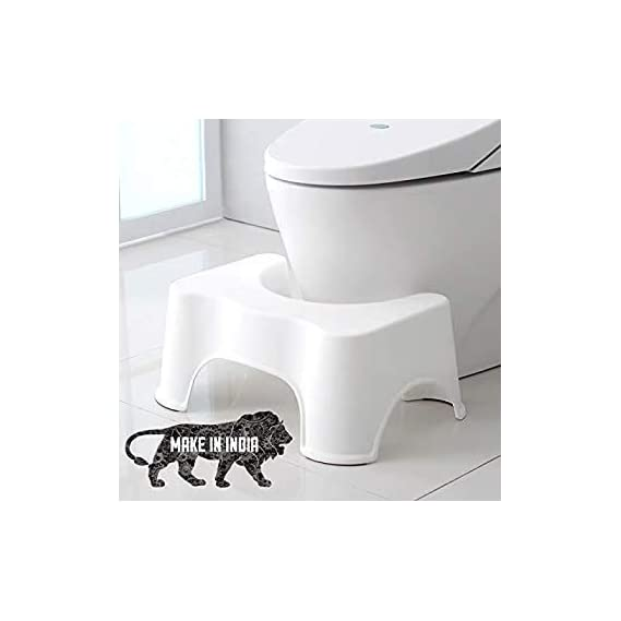 RODI Squat Stool for Western Toilet Squatty Potty Stool for Adults