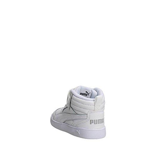 Puma 363915 02 Zapatillas de Deporte Altas Boy Blanco
