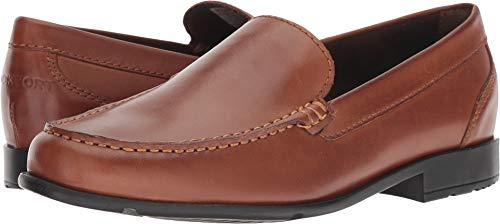 Rockport Men's Classic Lite Venetian Slip-On Loafer- Cognac(Dark Brown)-13  M