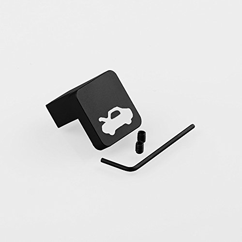 Ocamo Kit de Reparación de pestillo para Capó Honda Civic Ridgeline Element, Negro