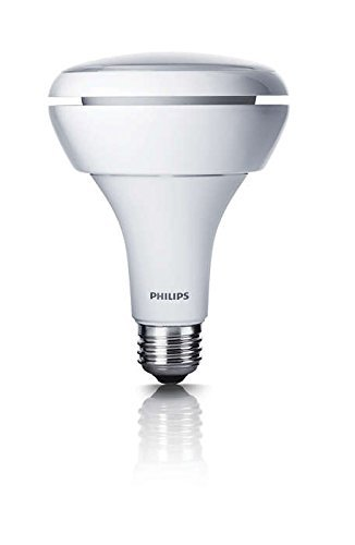 Philips 65W Equivalent LED BR30 Soft Flood Light Bulb with D