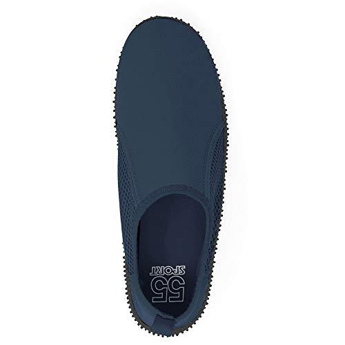 55 Sport pour Homme Marine Bleu Aquatiques Chaussures zZqFnzO