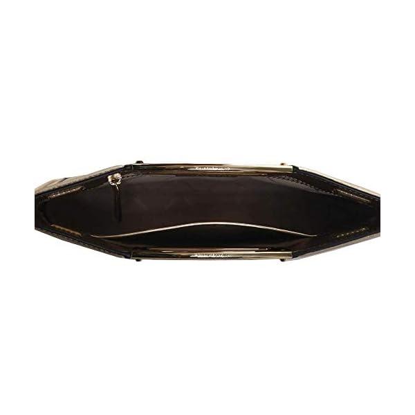MICHAEL Michael Kors Berkley Legacy Large Clutch Silver One Size 5