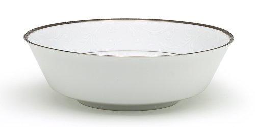 (Noritake Regina Platinum Large Round Vegetable Bowl)