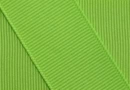 Grosgrain Ribbon 7/8 Inch 5 Yards Chartreuse Green
