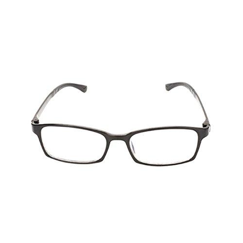 de negra Gafas lectura miopáticas miopía resina de Gafas para hombres completo de de y Yefree mujeres recubiertas de Gafas marco resina ZxHEqfwRBa
