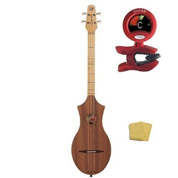 Seagull Merlin Dulcimer 039098, Natural Mahogany with Tuner by Seagull
