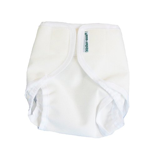 Rikki Wrap Nappy Cover Large White