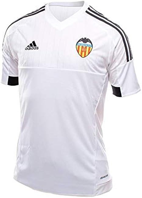 adidas Valencia Home JSY Y - Camiseta para niño, Color Blanco/Negro, Talla 164: Amazon.es: Ropa y accesorios
