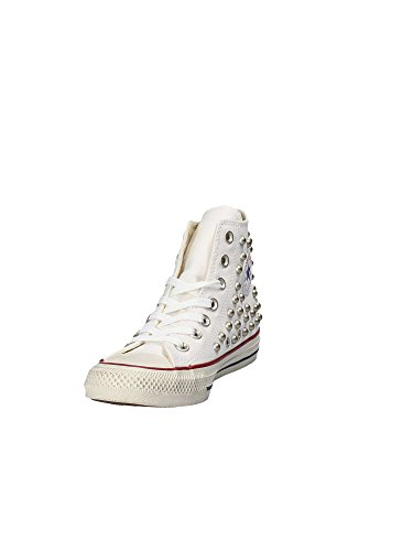 Alte Sneackers Converse Bianco All Bianche Star Con Borchie qSvrxwS4tT