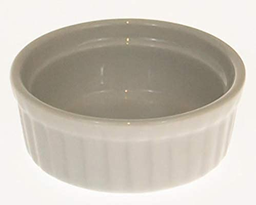 pack de 2 CKS Mini Porcelaine Ramekin 6cm x 2.7cm
