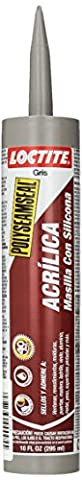 LOCTITE 1507597 828250 Acrylic Caulk, Grey (Caulk Grey)