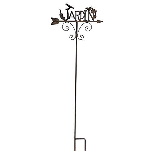 LHéritier Du Temps - Tutor de jardín (Hierro Envejecido, 7, 5 x ...