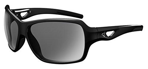 Ryders Eyewear CARLITA Women's Cycling Sunglasses with Grey Anti-Fog Polarized Lenses, Black by Ryders