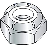 3/4-16 NTE Thin Pattern Nylon Insert Hex Lock Nut Zinc, Pkg of 200