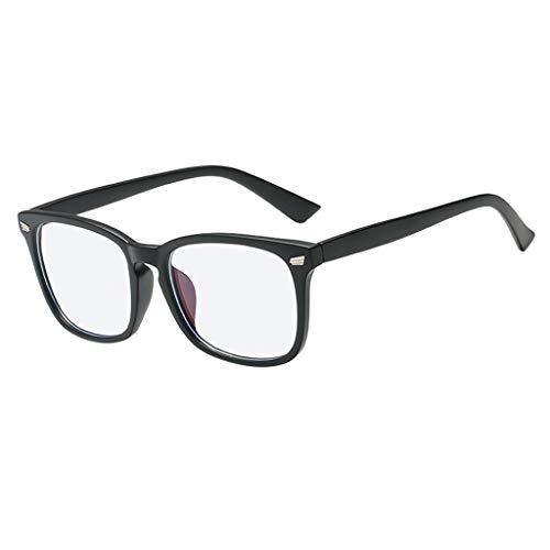 (Blue Light Blocking Glasses Square Nerd Eyeglasses Frame Anti Blue Ray Glasses)
