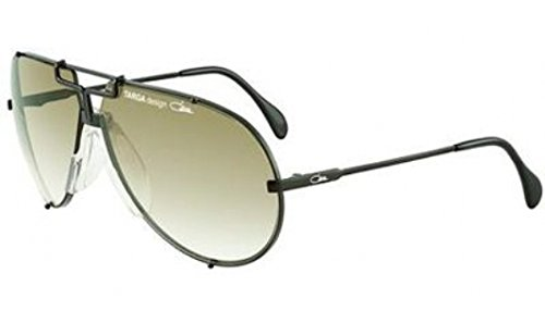 Cazal 901-049 Oval Sunglasses,Black Frame/Grey Gradient Lens,70 mm