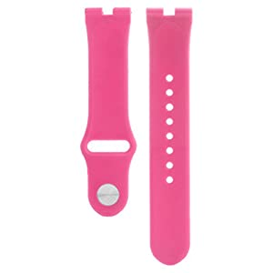 SCASTOE 22mm Elegant Silicone Rubber Watch Strap Band For Motorola Moto 360 Smart Watch Hot Pink