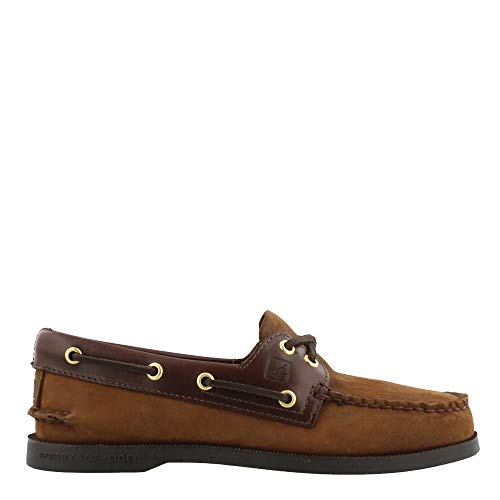 (Sperry Top-Sider Men's Authentic Original Deck Shoes,Brown/Brown,15 M US)