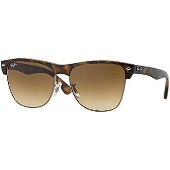 Amazon.com: Ray Ban Rb3016 Clubmaster anteojos De Sol Bundle ...