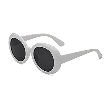 1d5ba1fa10 Round Lens Clout Goggles Eyewear Supreme Glasses Cool Oval Mod Thick Frame  Sunglasses  Amazon.ca  Sports   Outdoors
