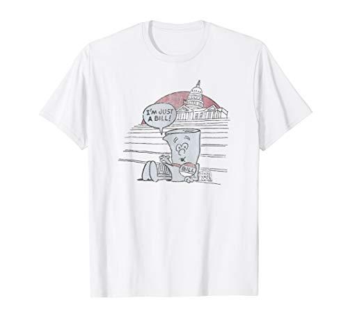 (Schoolhouse Rock I'm Just a Bill T-shirt)